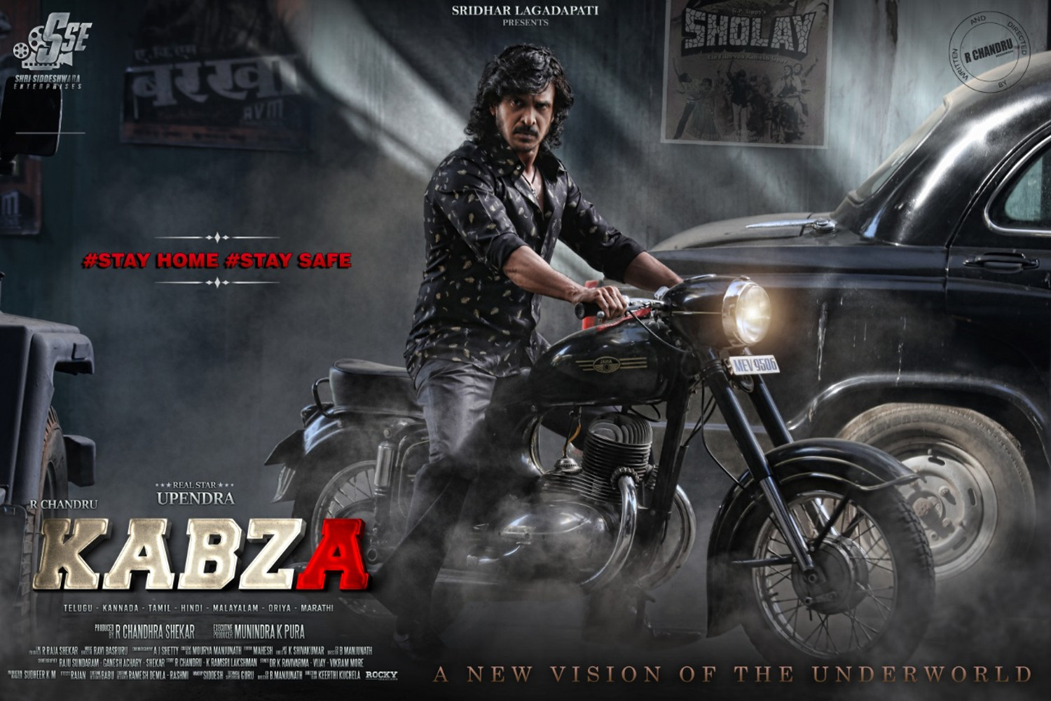Real Star Upendra & R Chandru's 'Kabza' First Look unveiled