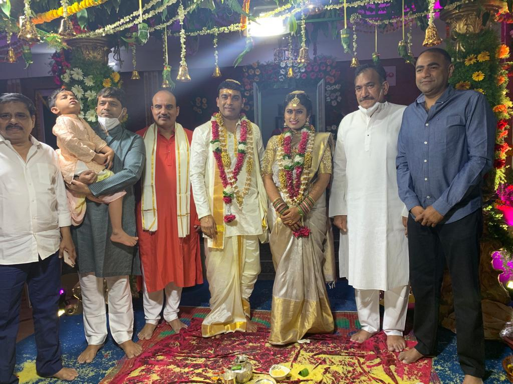 Telugu Producer Dil Raju Tejaswini Vygha Reddy Marriage Photos