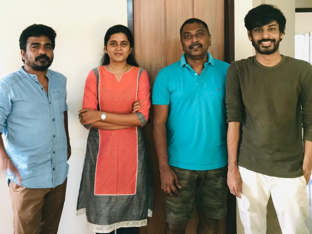 "Ashok Selvan-Niharika Starrer ""Production No.7"" bankrolled by Kenanya Films"