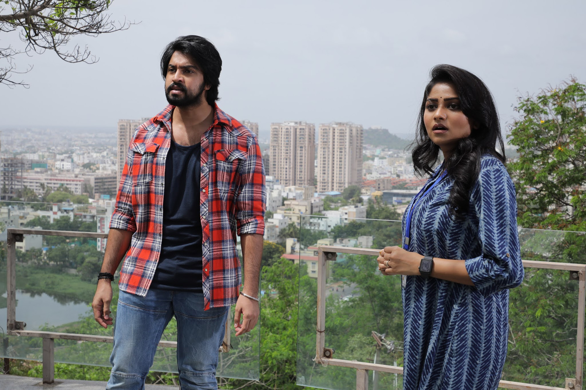 Kalyan Dev, Rachita Ram in Super Machi Movie