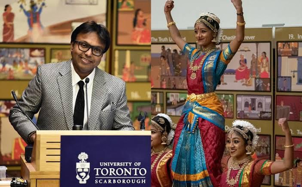 Music director D Imman as ambassador at Toronto Tamil chair for honorable Tamil language