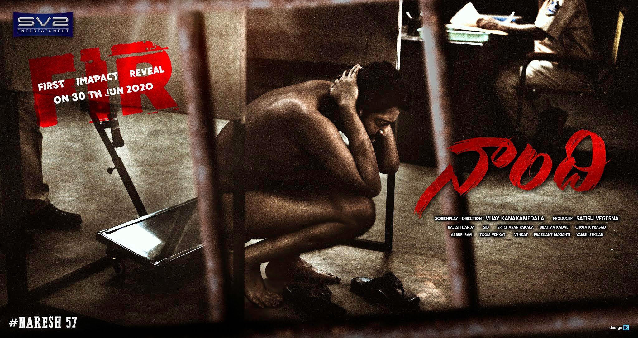 Naandhi FIR Movie Release on Allari Naresh's Birthday