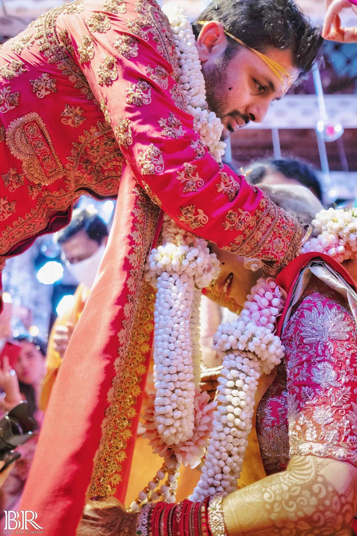 Actor Nithin Reddy Marriage Photos
