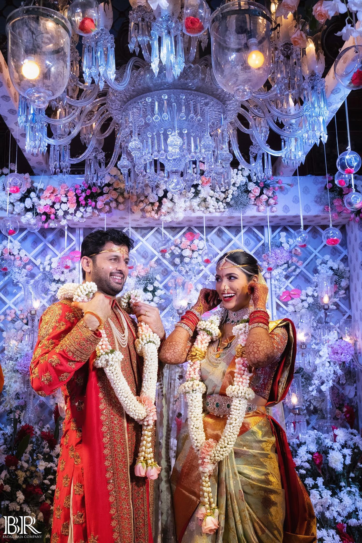 Actor Nitin Shalini Marriage Photos