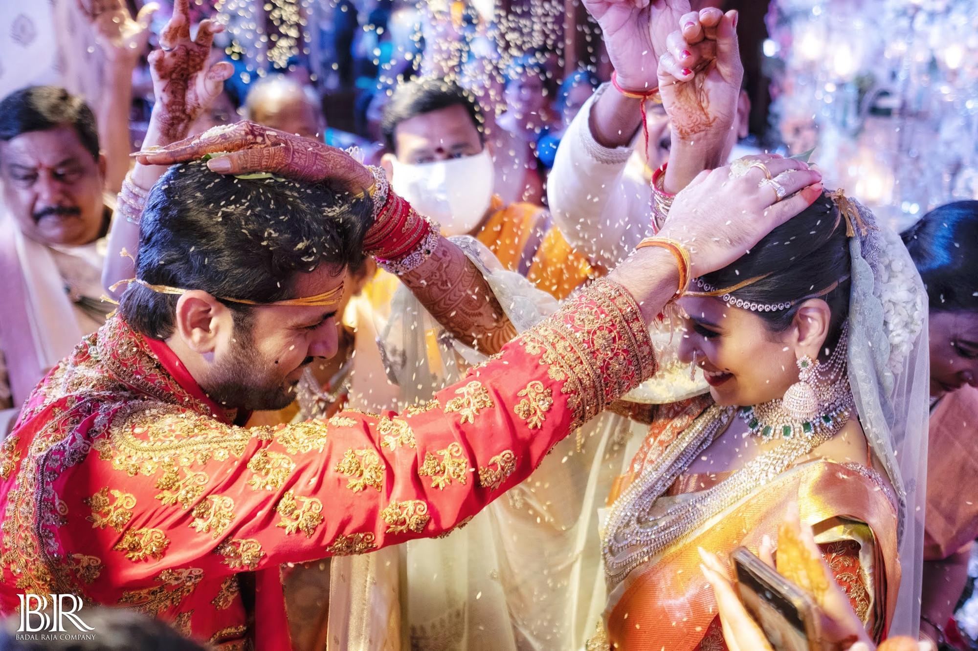 Actor Nitin Shalini Wedding Photos