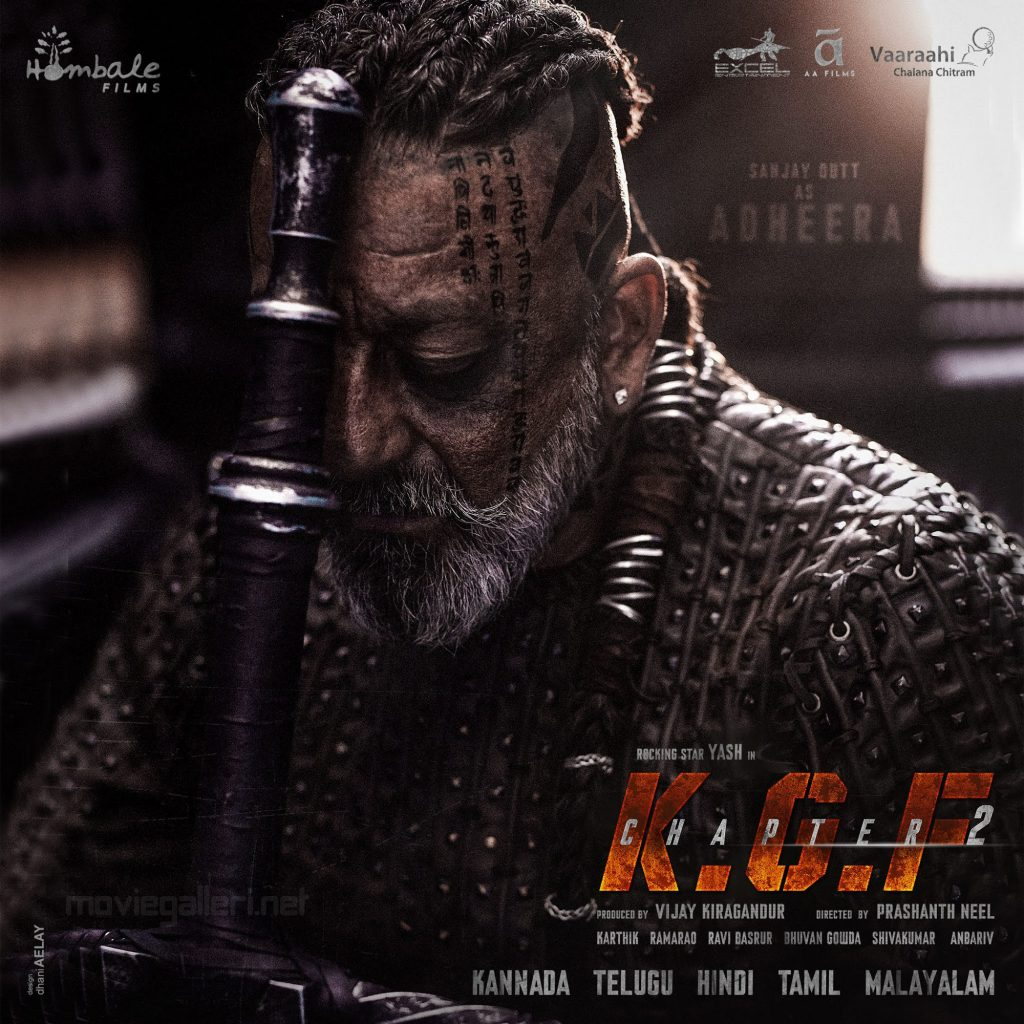 Sanjay Dutt KGF Chapter 2 First Look Poster HD | New Movie ...