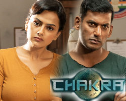 Vishal Shraddha Srinath Chakra Movie HD Images