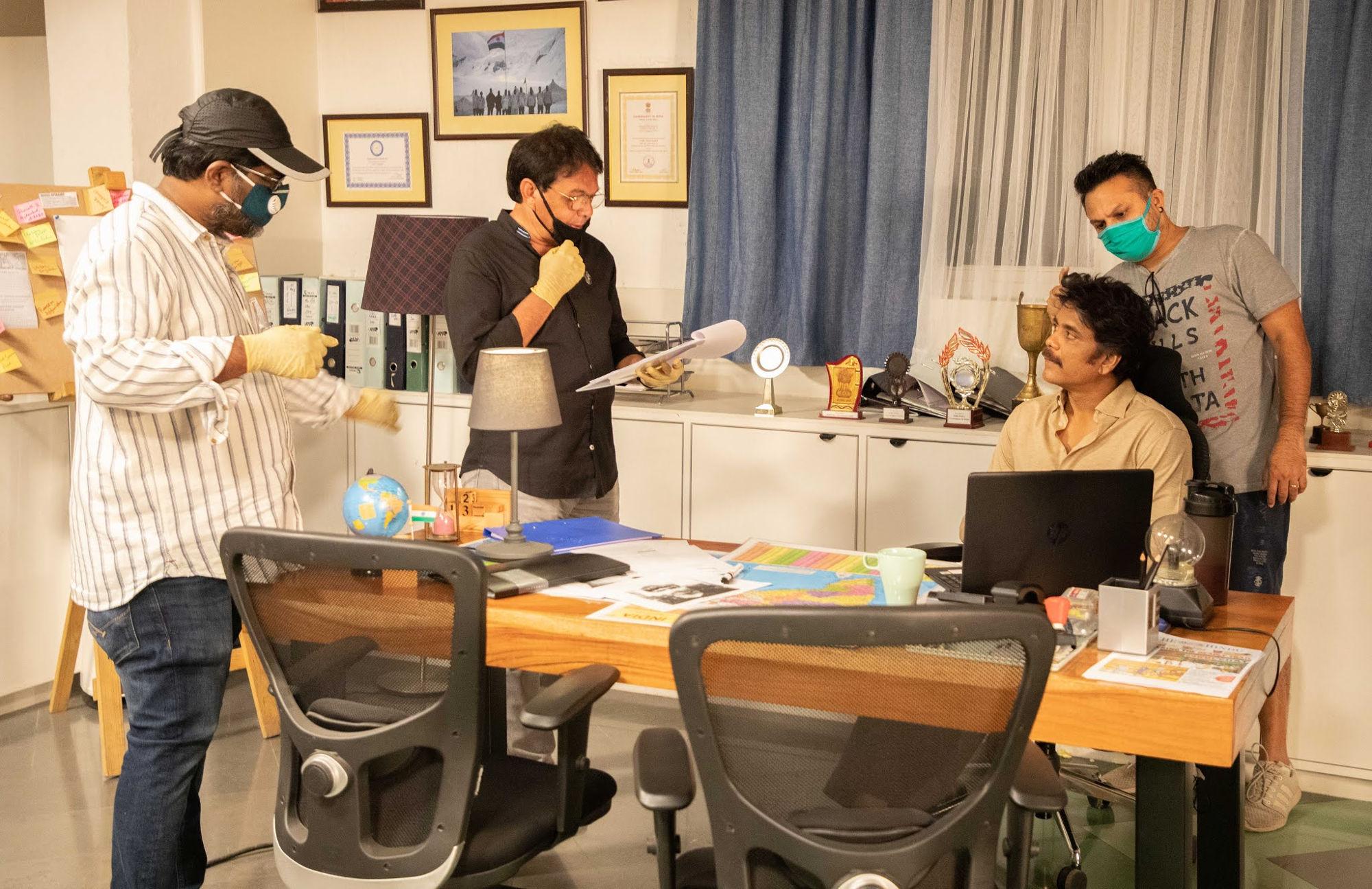Nagarjuna Wild Dog Movie Shooting Recommenced
