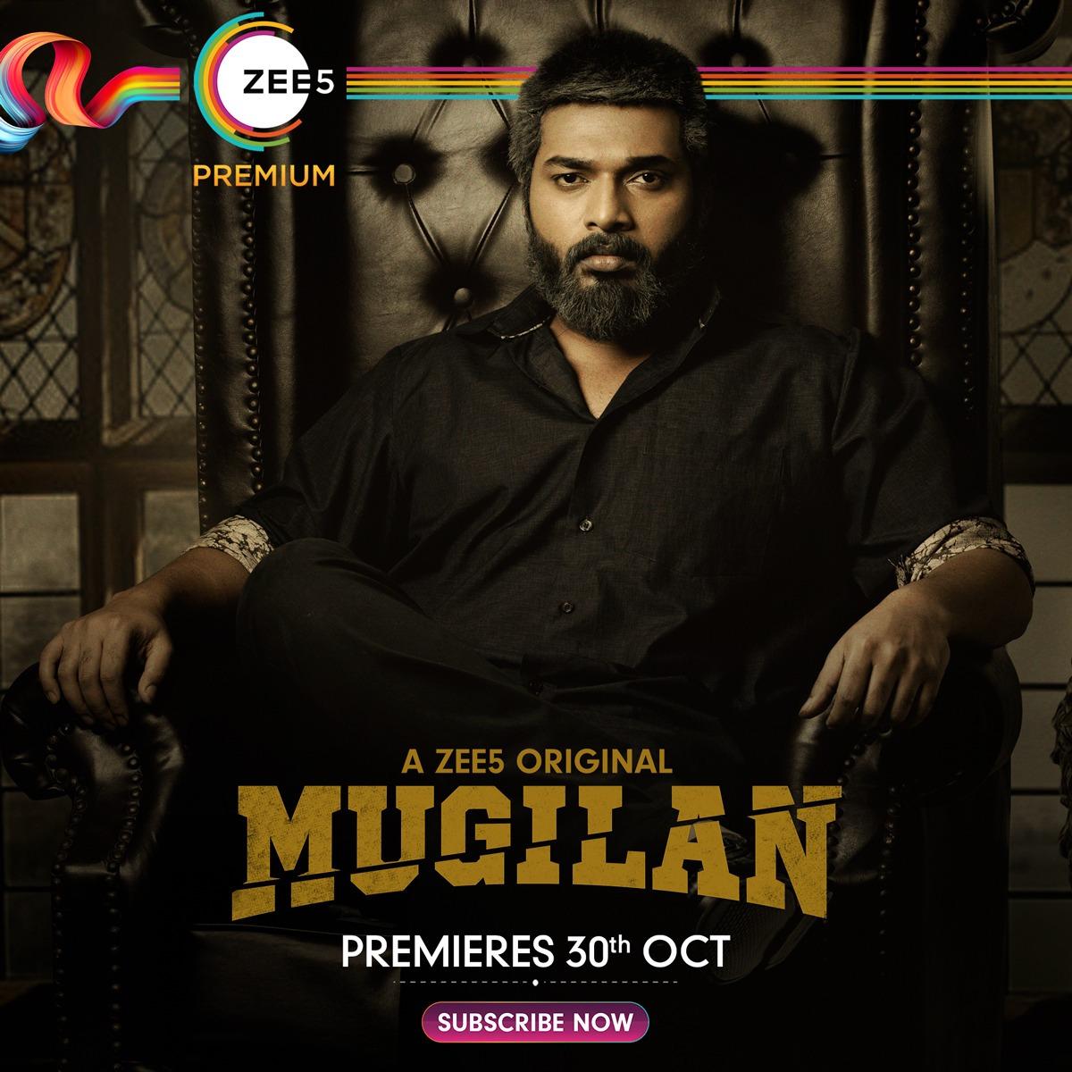 Actor Karthik Raj Mugilan Web Series from ZEE5 premieres on Oct 30th
