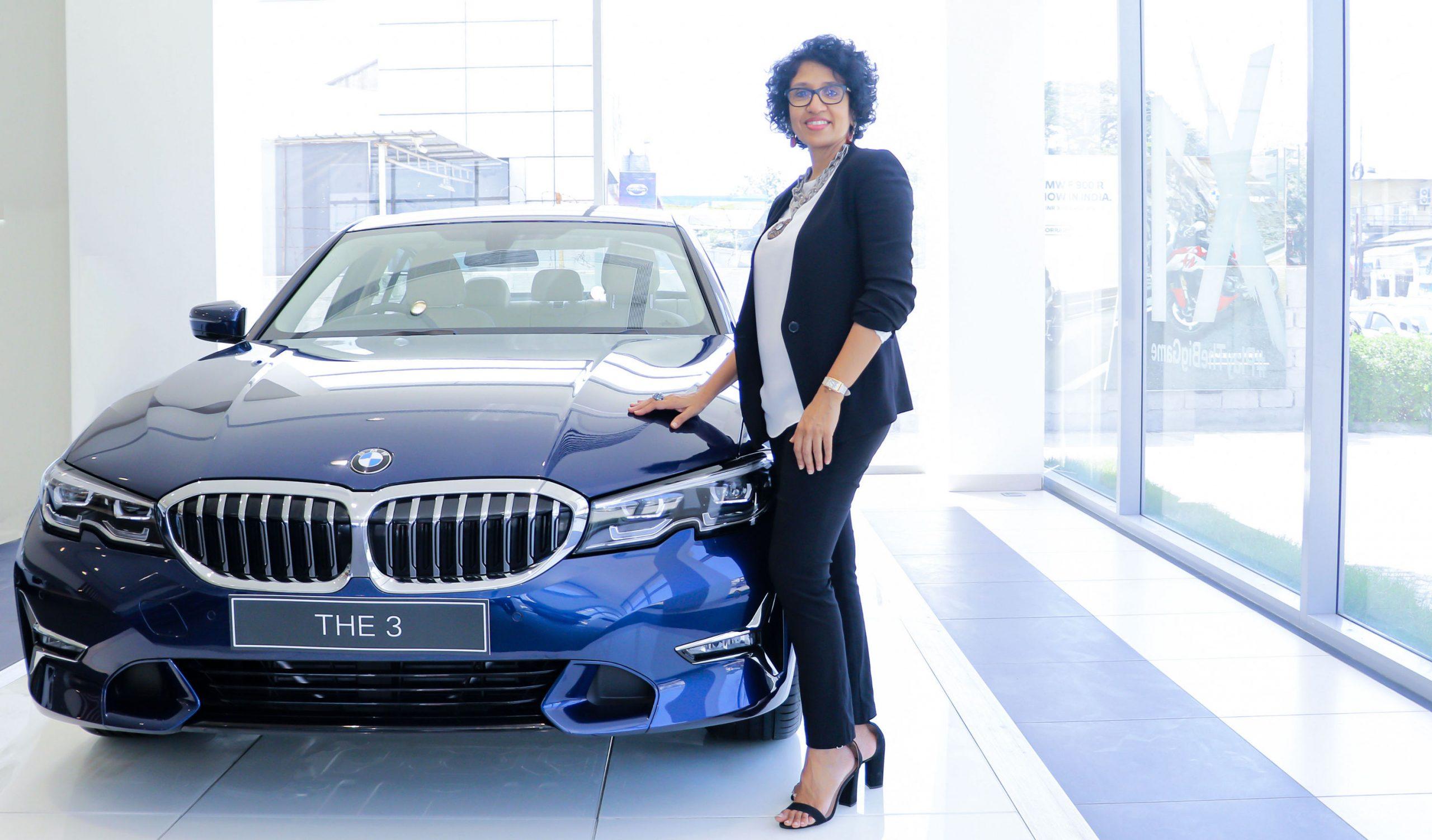 Ms Vasanthi Bhupati Dealer Principal KUN Exclusive BMW India Showroom in Chennai