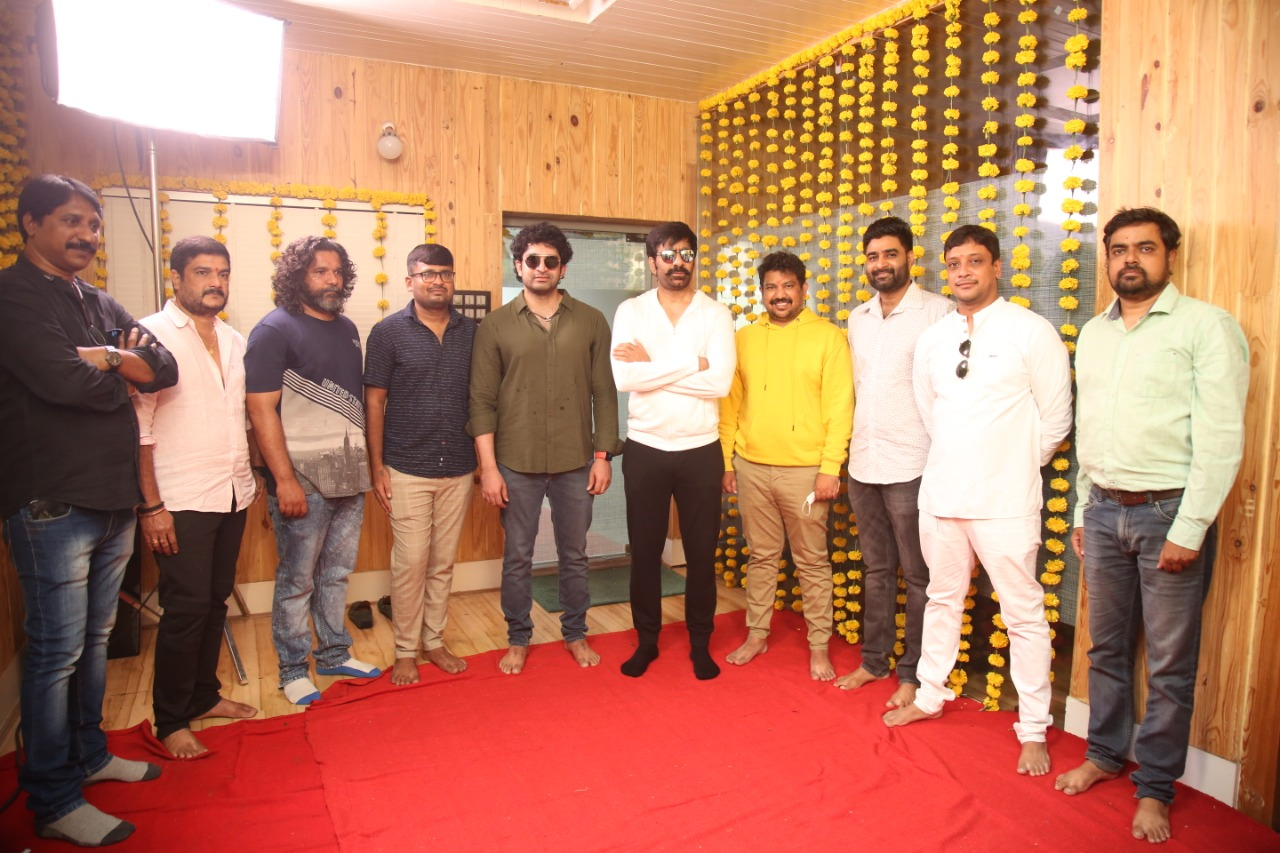 Ravi Teja Khiladi Movie First Look Launch