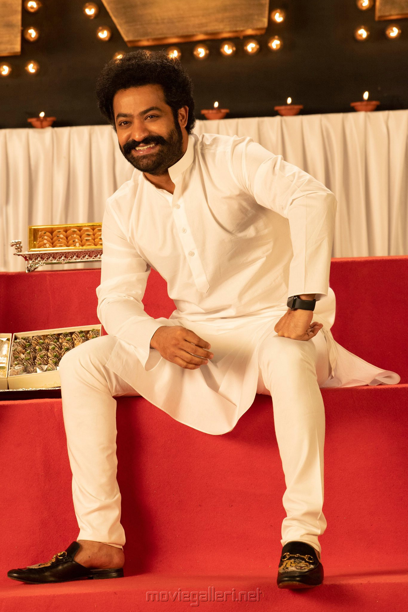 Actor Jr NTR in RRR Movie Diwali Special Images
