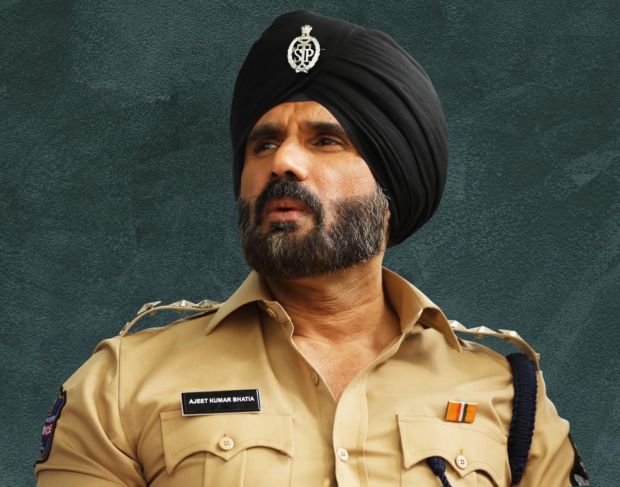 Actor Suniel Shetty in Mosagallu Movie HD Images