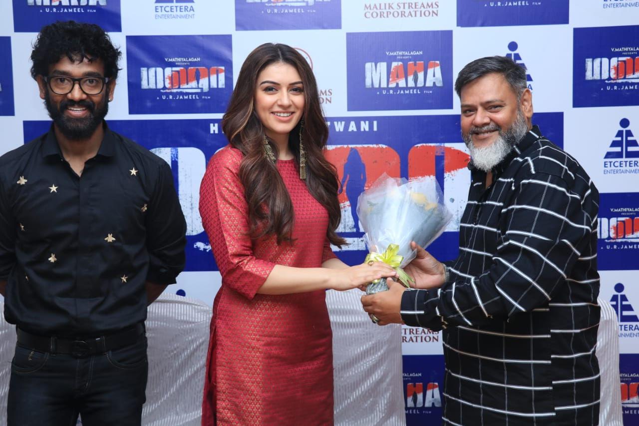 Actress Hansika Motwani 50th Film Maha Shooting Wrapped Up