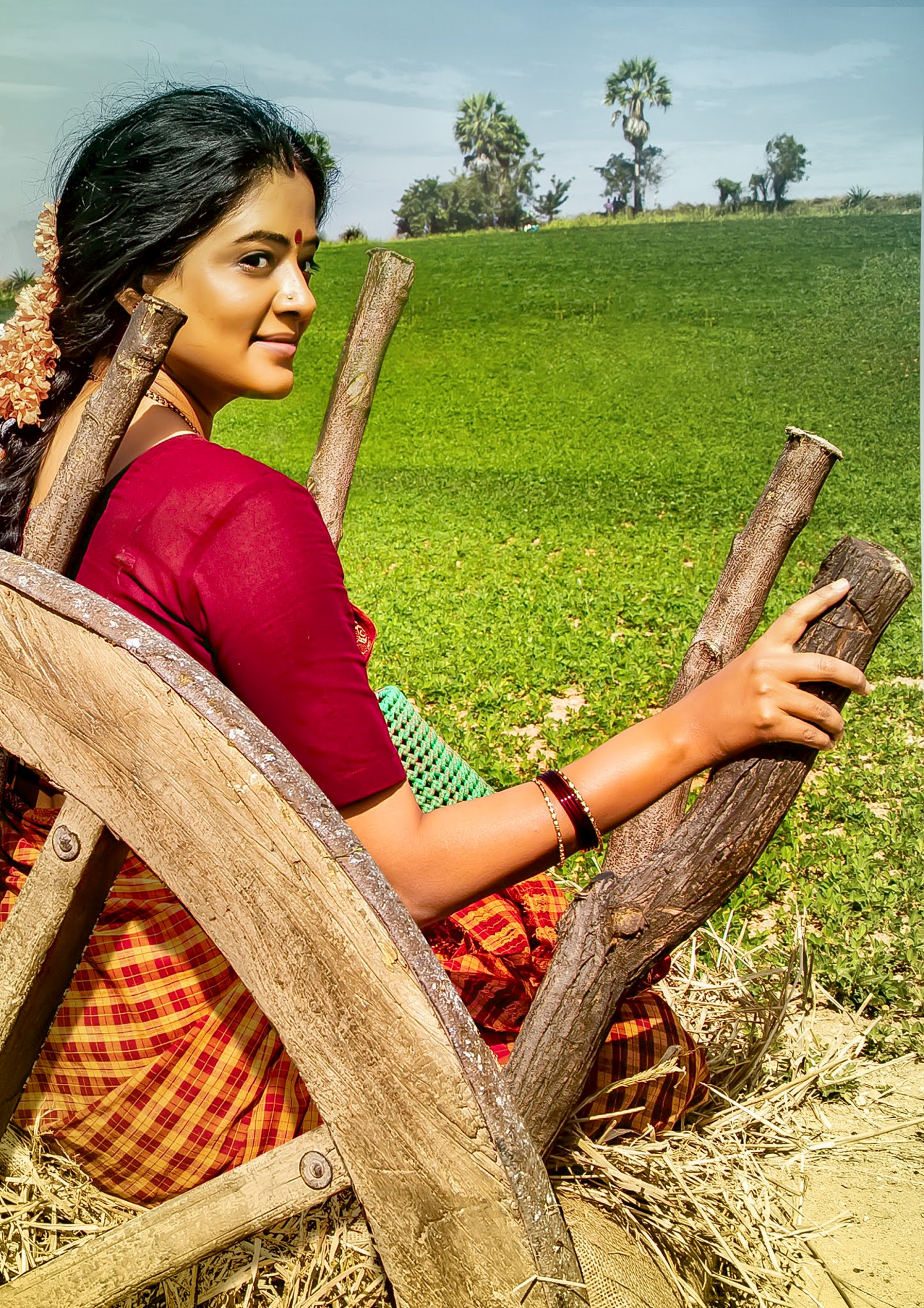 Actress Priyamani as Sundaramma in Naarappa Movie Images