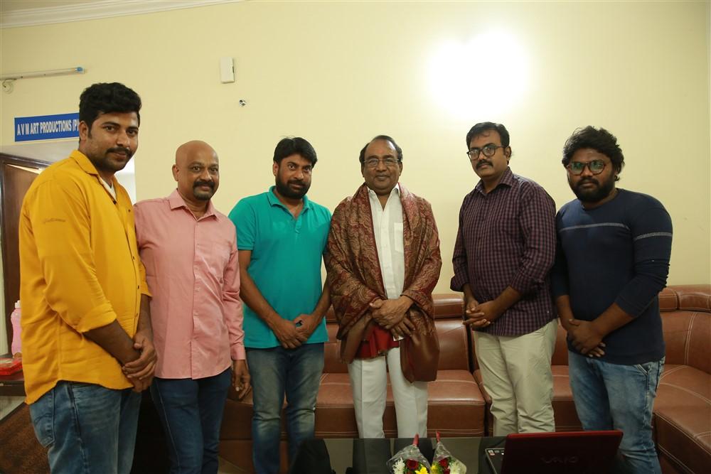 Director Shekhar Sai Aa Kshanam Movie Teaser Launch Stills