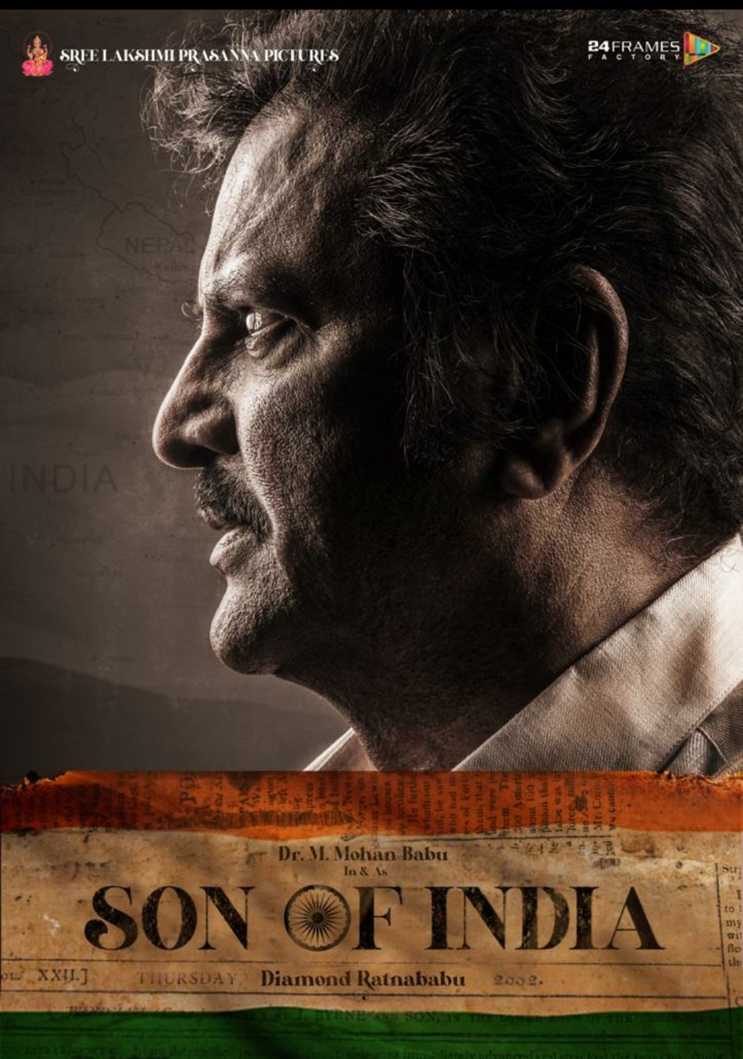 Dr Mohan Babu Son Of India Movie Hyderabad Schedule Begins