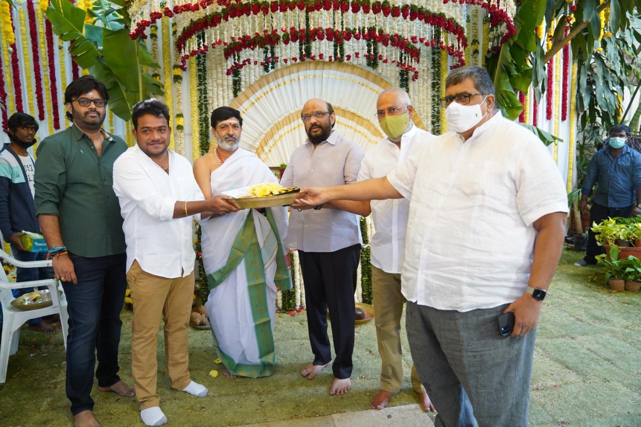 Pawan Kalyan Rana Movie Launched