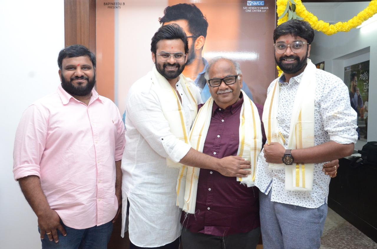 Sai Dharam Tej Sukumar Movie Launched
