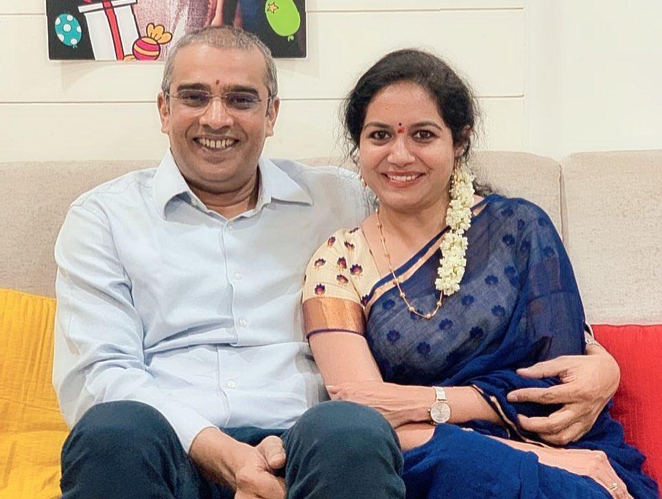 Singer Sunitha is engaged to Mango Music label head Ram Veeramachineni