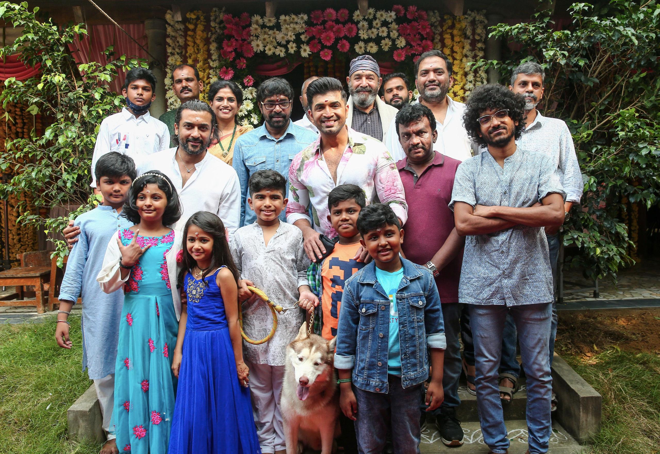 Suriya 2D Entertainment launch Arun Vijay son Master Arnav Vijay in a Kids centric film