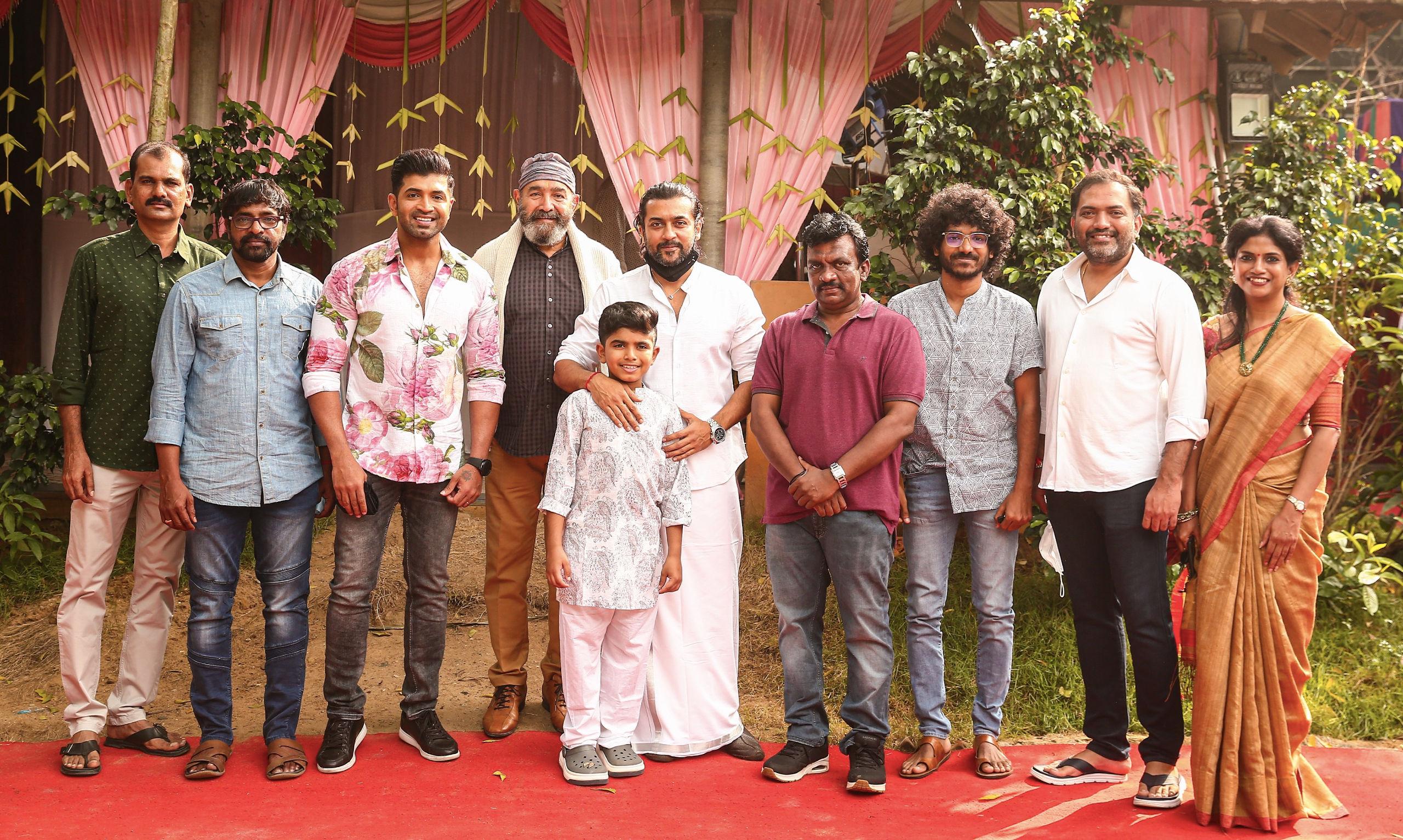 Suriya's banner 2D Entertainment to launch Arun Vijay's son Master Arnav Vijay in a Kids-centric film