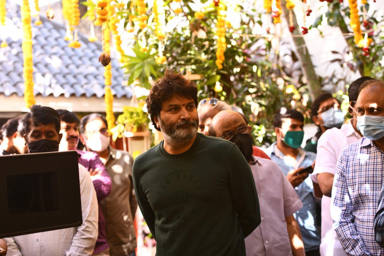 Trivikram Srinivas @ Pawan Kalyan Rana Daggubati Movie Launched