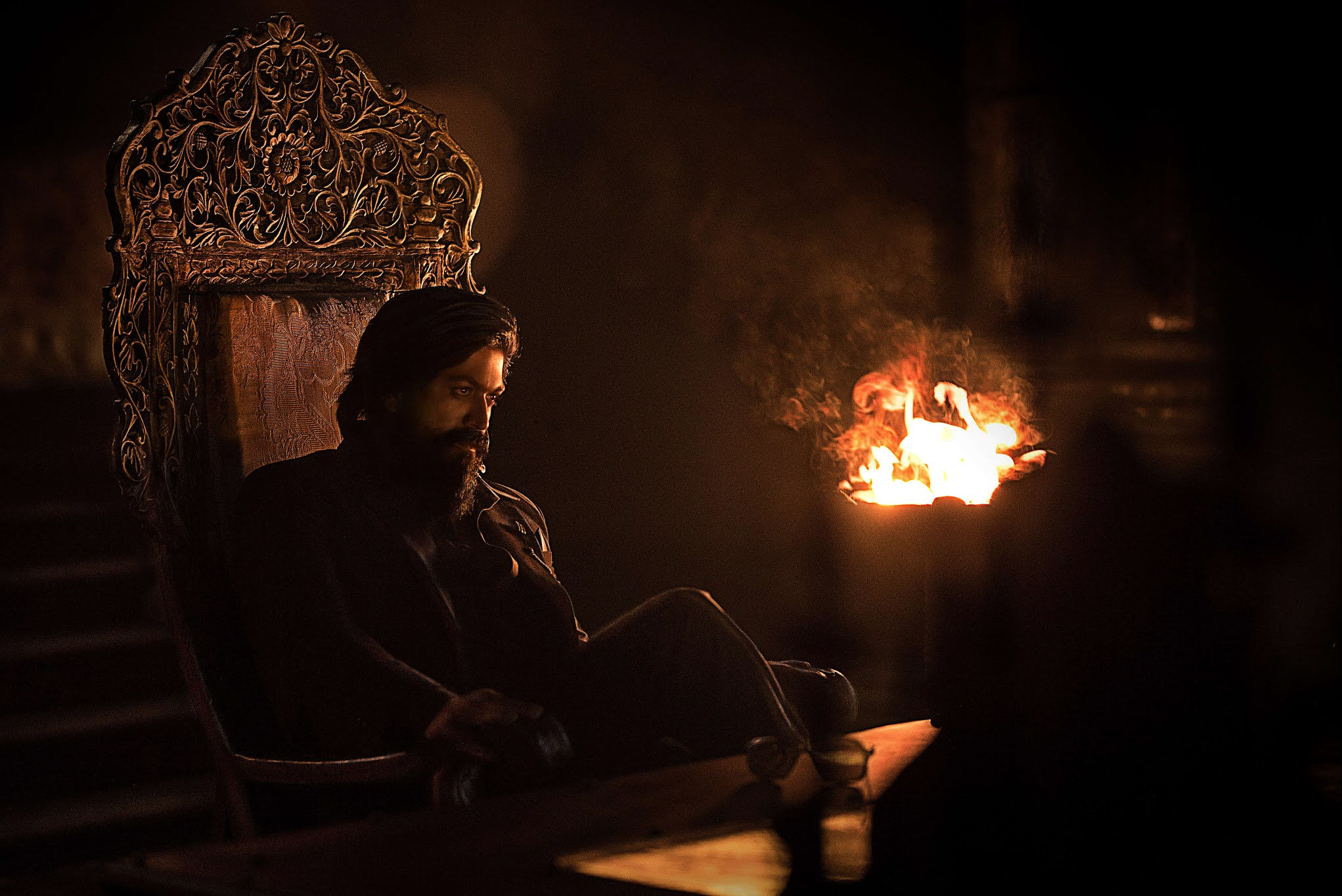 Yash KGF Chapter 2 teaser release