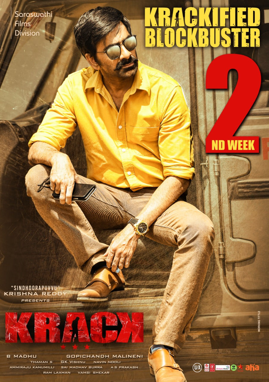 Ravi Teja Krack Movie 2nd Week Posters