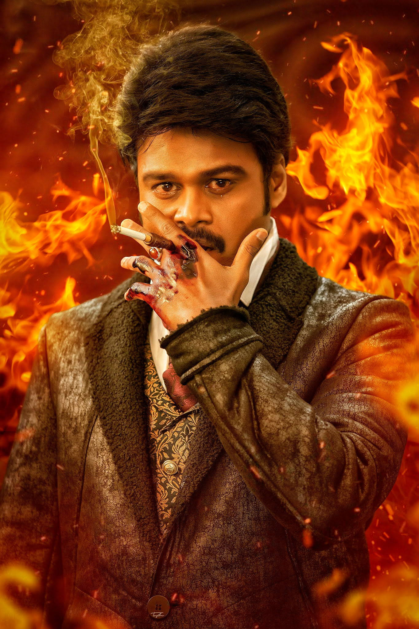 Actor Sapthagiri Eight Movie First Look Poster Out