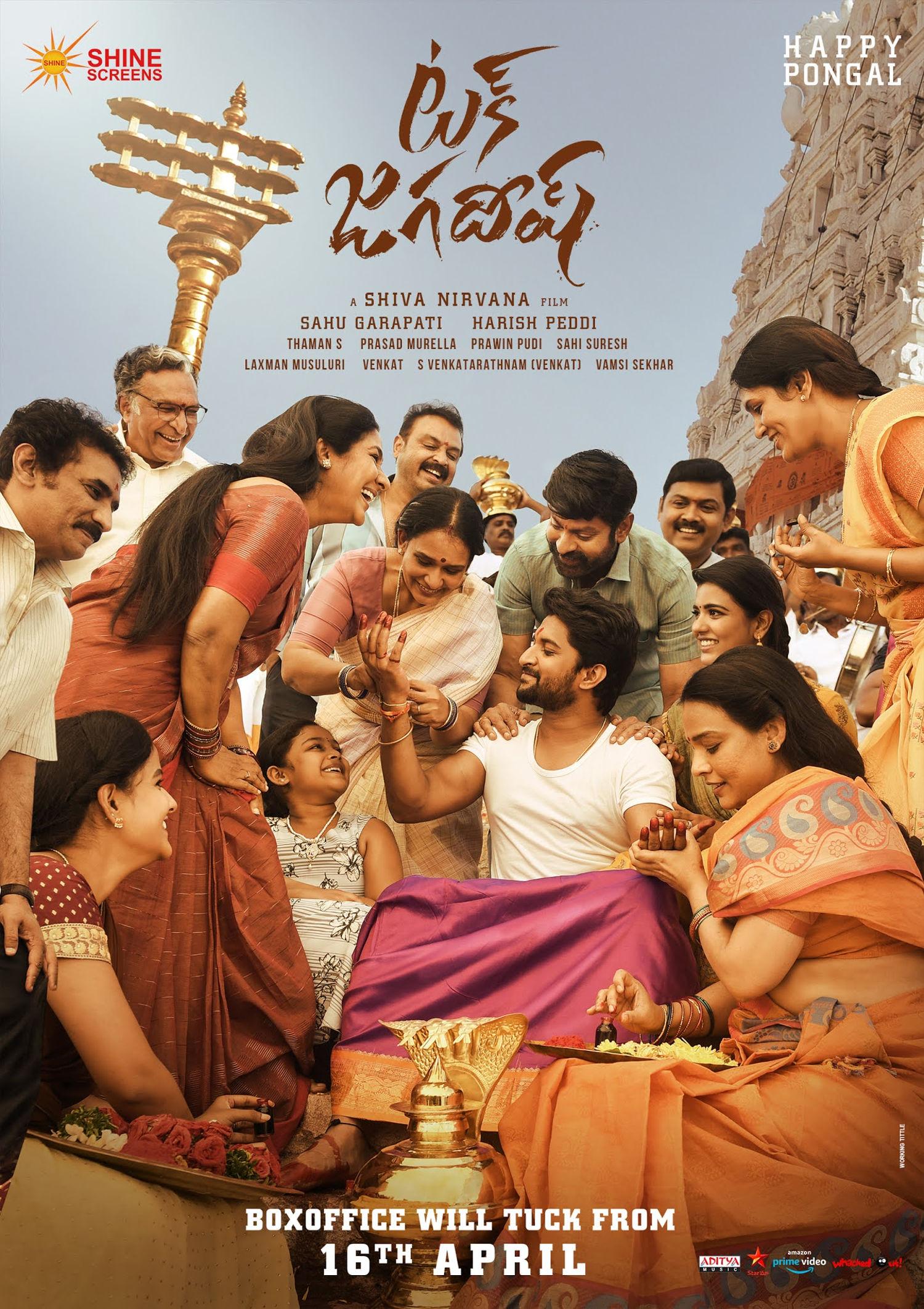 Nani Tuck Jagadish Movie Release On 16th April 2021 Poster HD
