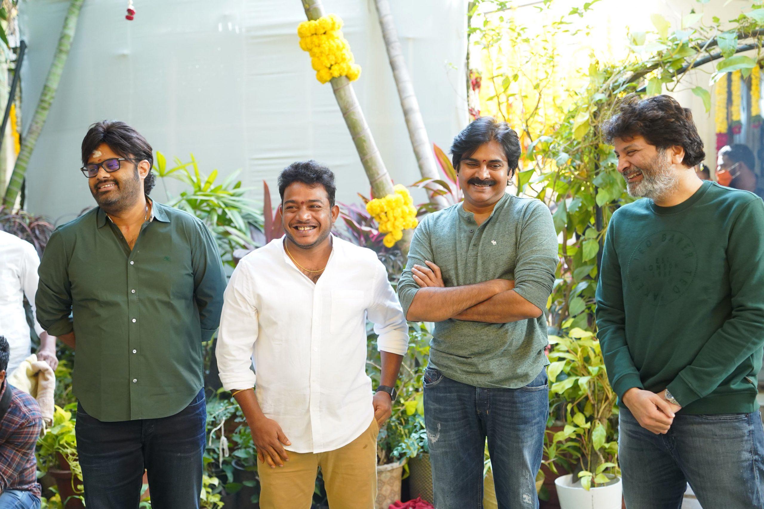 Pawan Kalyan and Rana daggubati movie regular shoot started