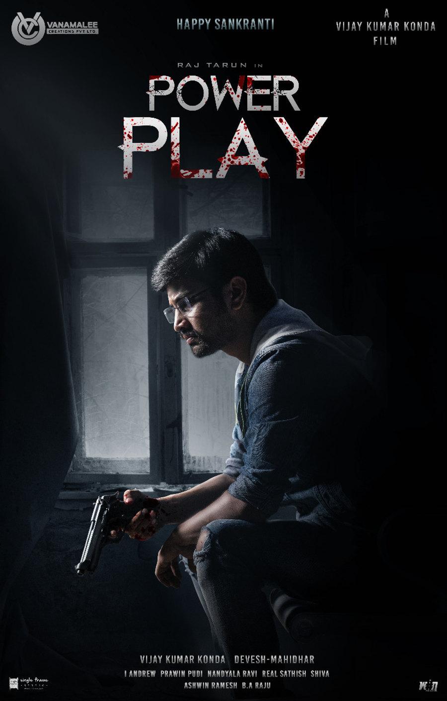 Raj Tarun Power Play First Look Released