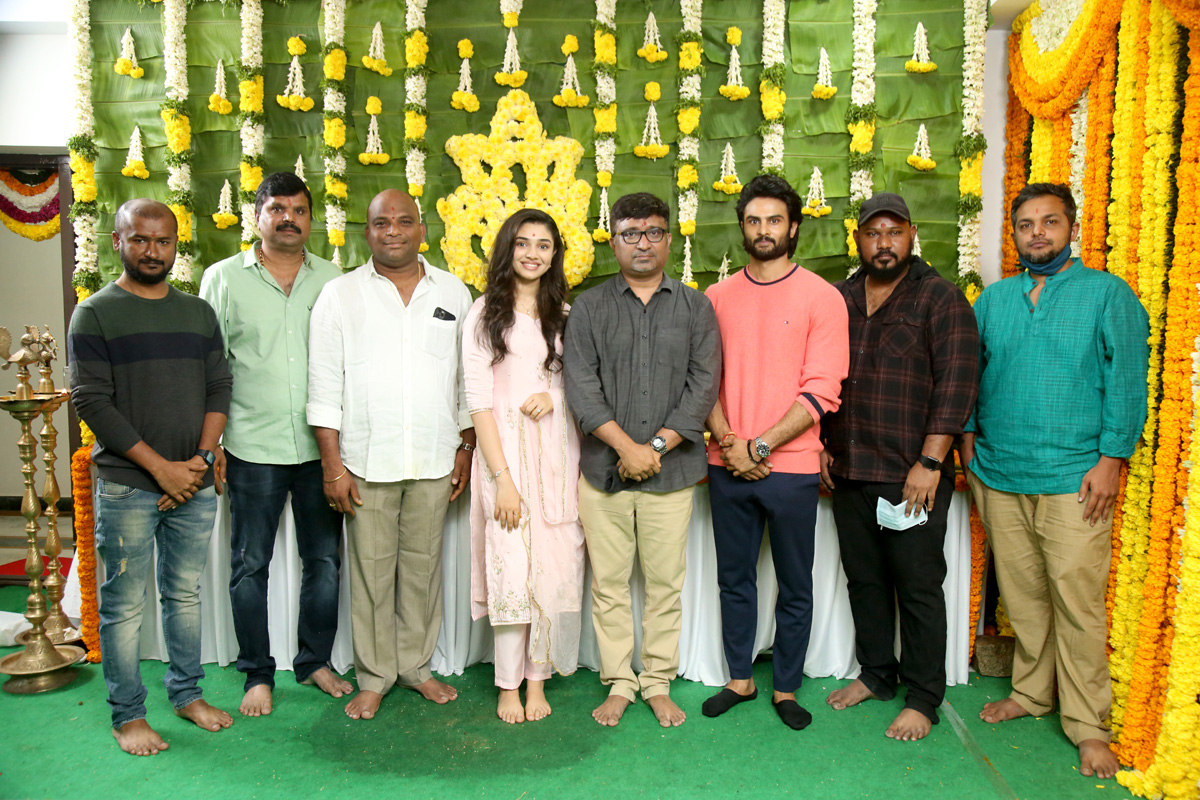 Sudheer Babu Benchmark Studios Film Launched