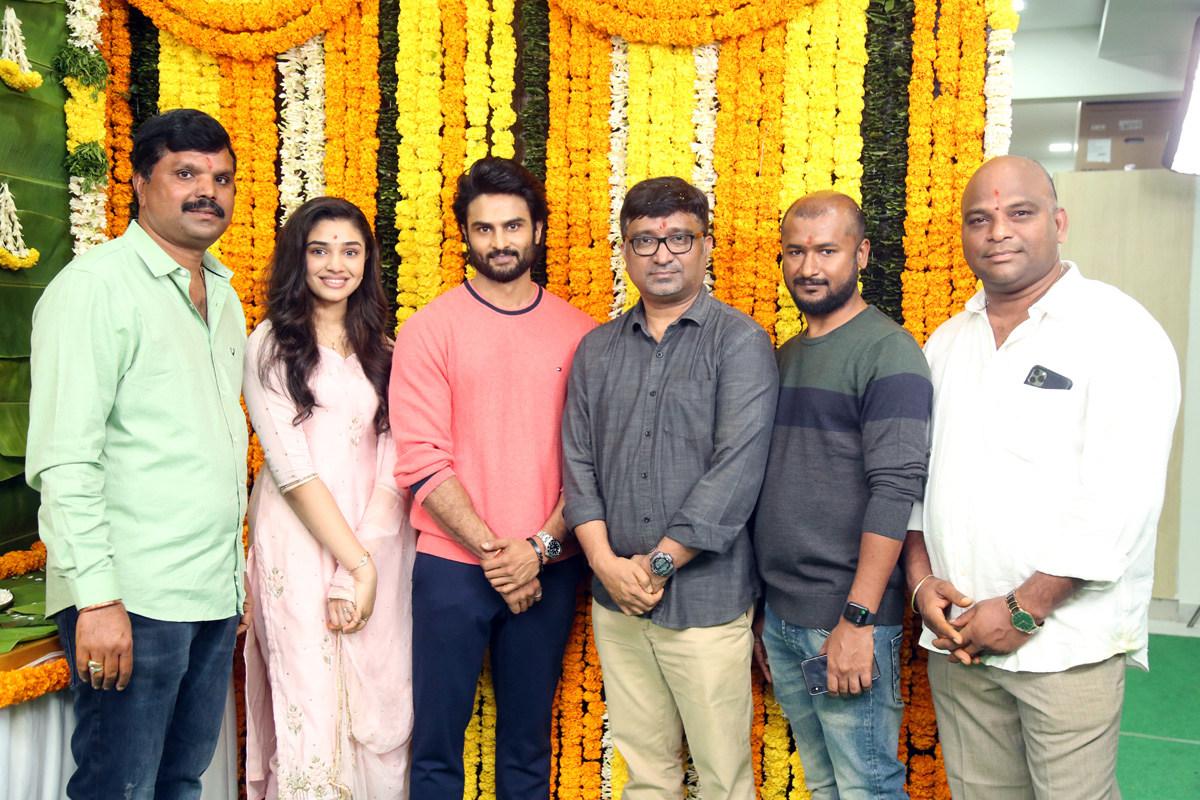 Sudheer Babu, Mohanakrishna Indraganti Film Launched