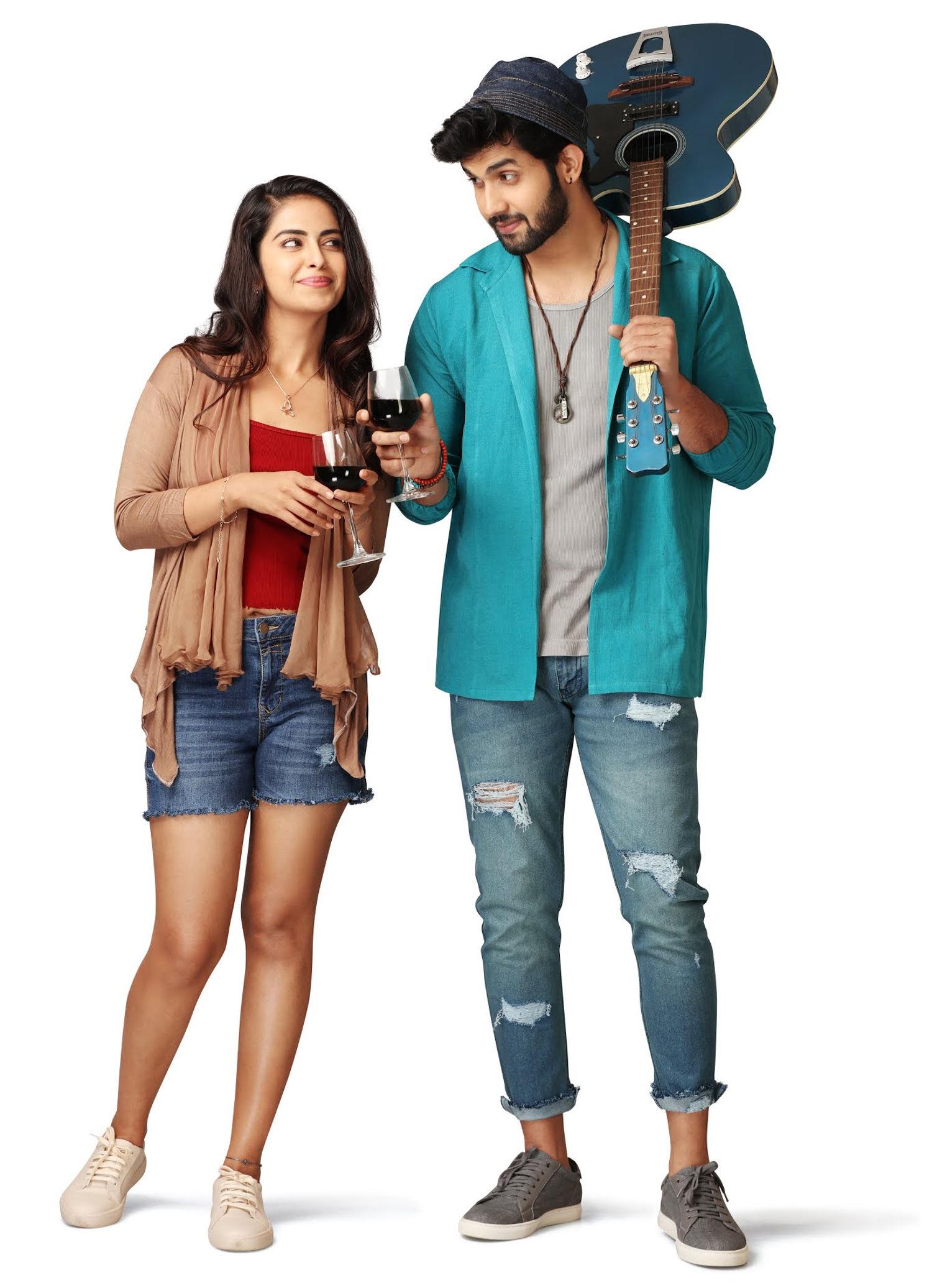 Avika Gor Sai Ronak @ Acharya Creations and Avika Screen Creations