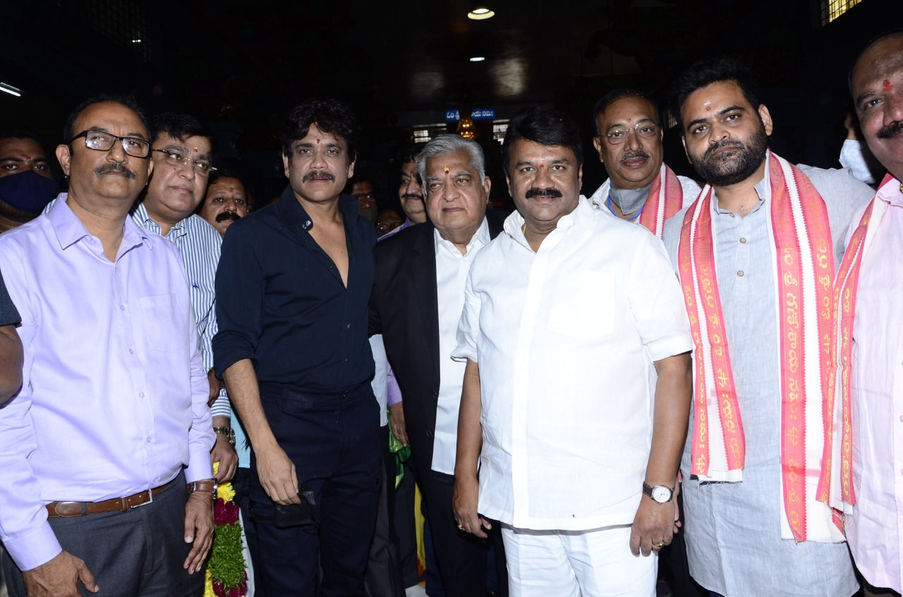 Nagarjuna, Preveen Sattaru's Action Entertainer Launched with Pooja Ceremony
