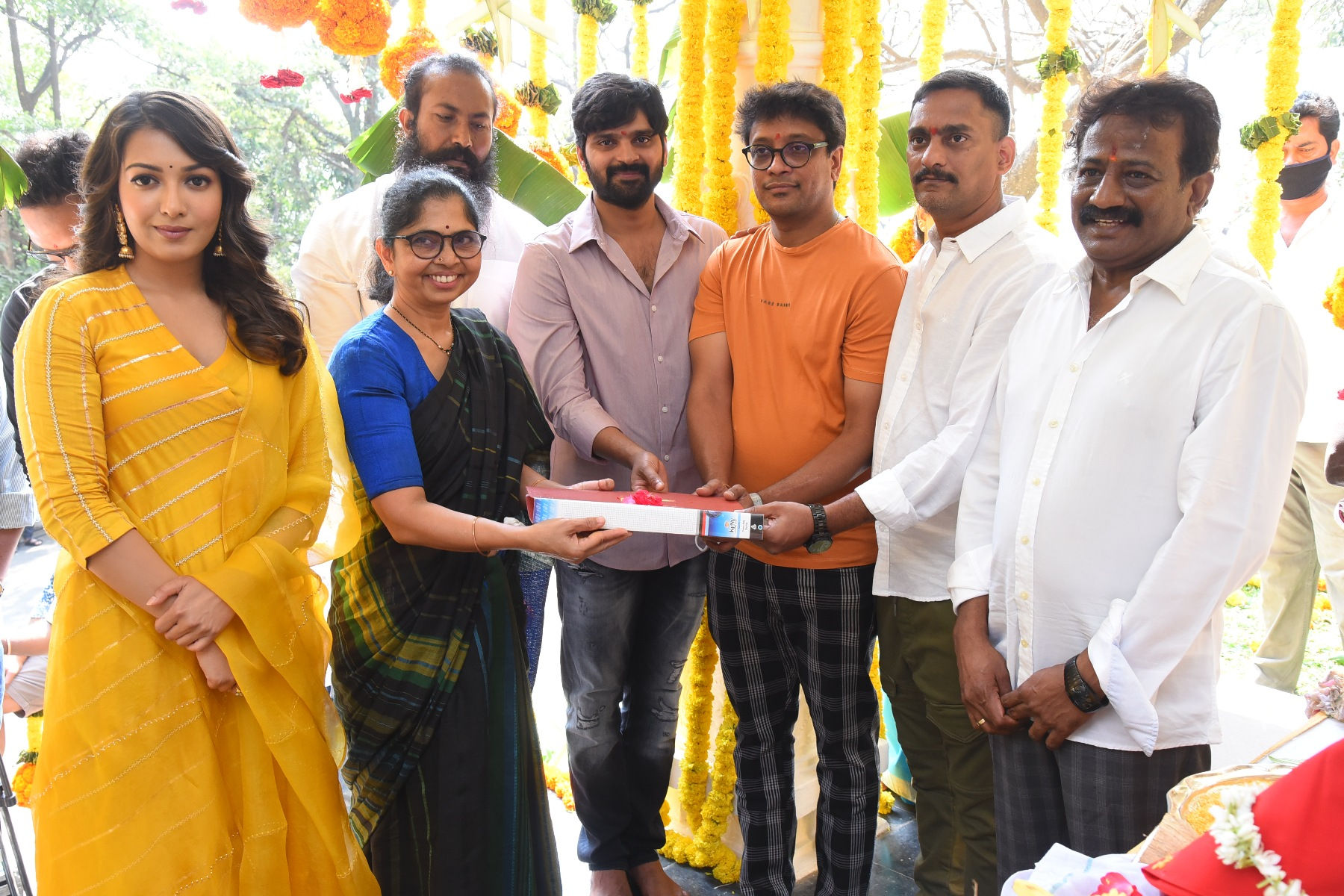 Rama Rajamouli @ Sree Vishnu - Bhala Thandanana movie launch