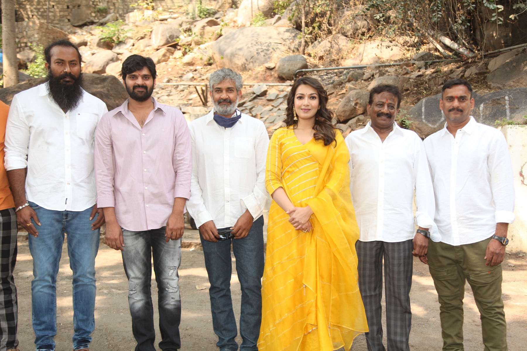 SS Rajamouli @ Sree Vishnu, Catherine Tresa Bhala Thandanana movie launch