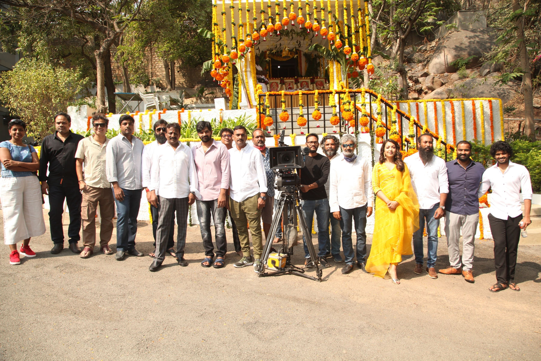 Sree Vishnu - Vaarahi 's BhalaThandanana movie launched