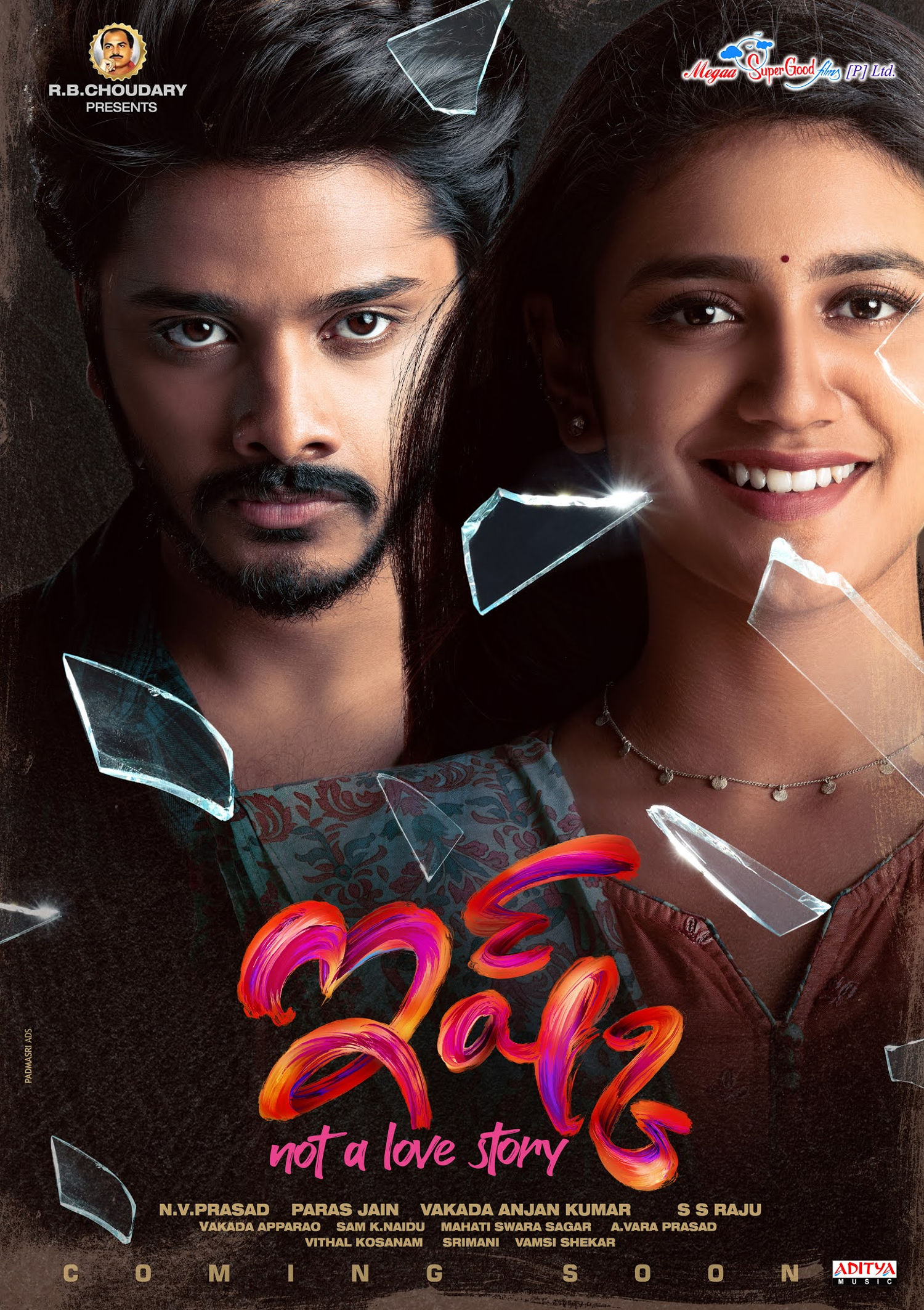 Teja Sajja Priya Varrier ISHQ Movie First Look Poster HD