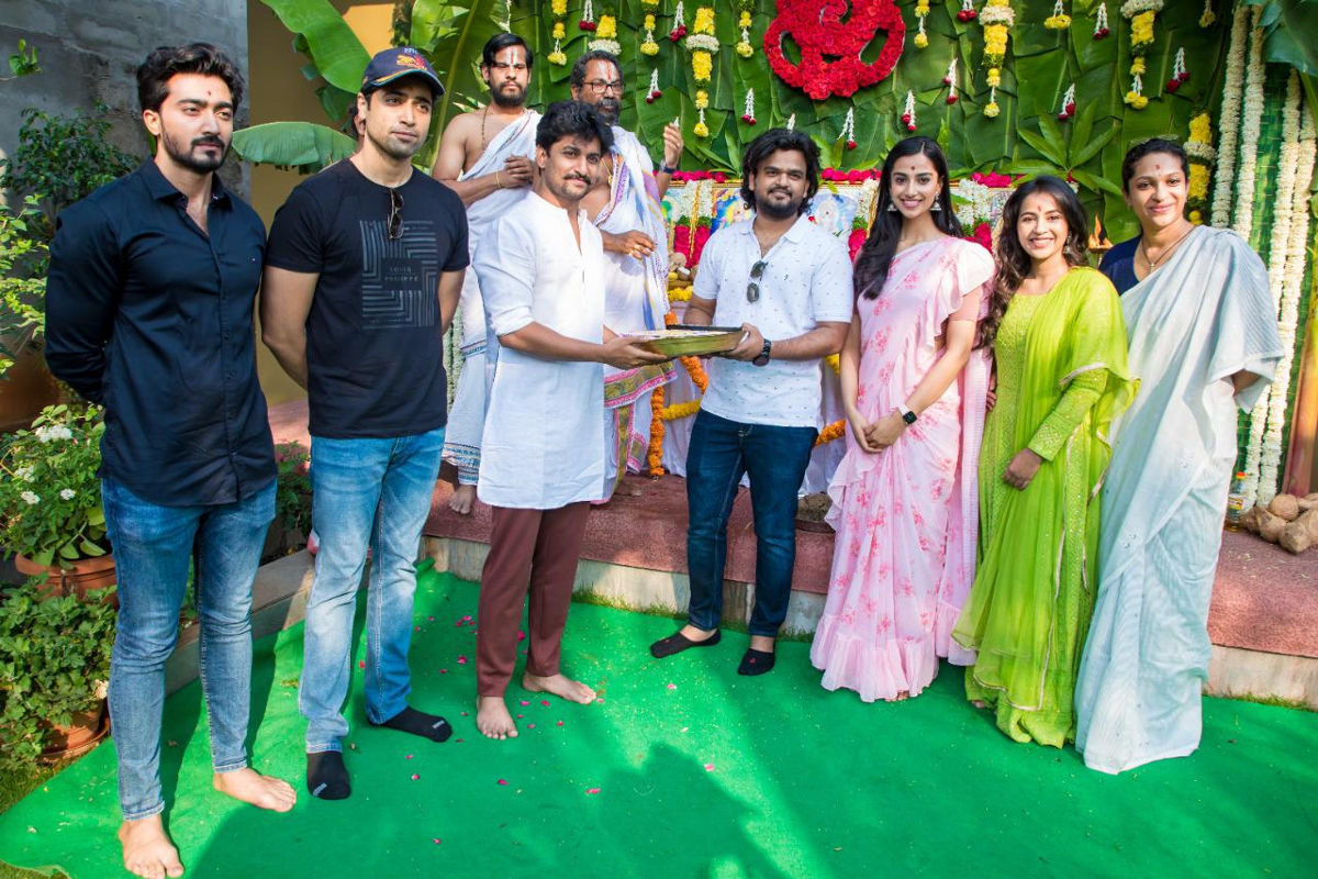Wall Poster Cinema HIT 2 Starring Adivi Sesh Launched