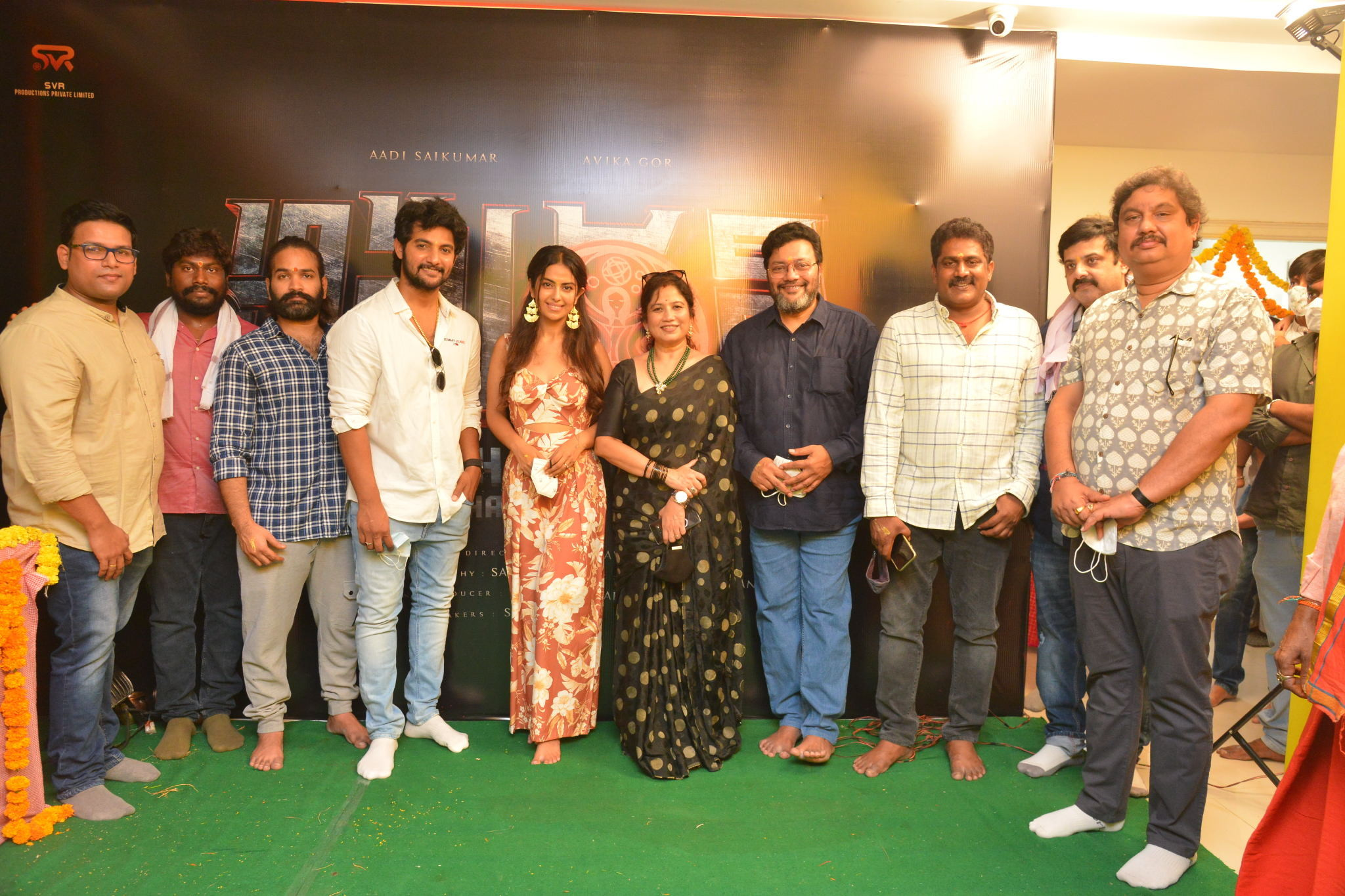 Aadi Saikumar, Avika Gor, SVR Production Amaran In The City- Chapter 1 Presented by The Prestigious Gemini Is Launched