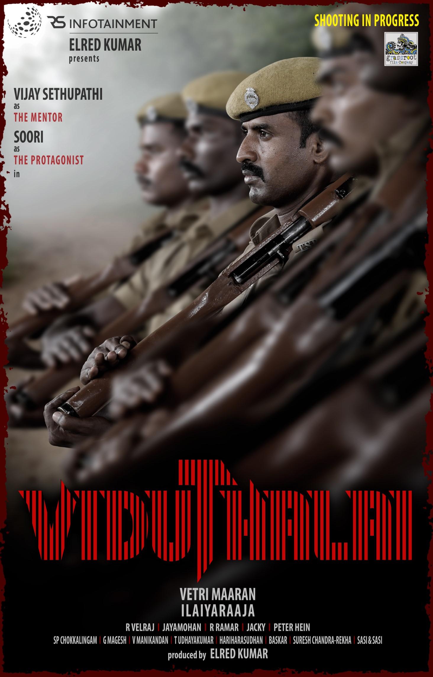 Actor Soori Viduthalai Movie First Look Poster HD