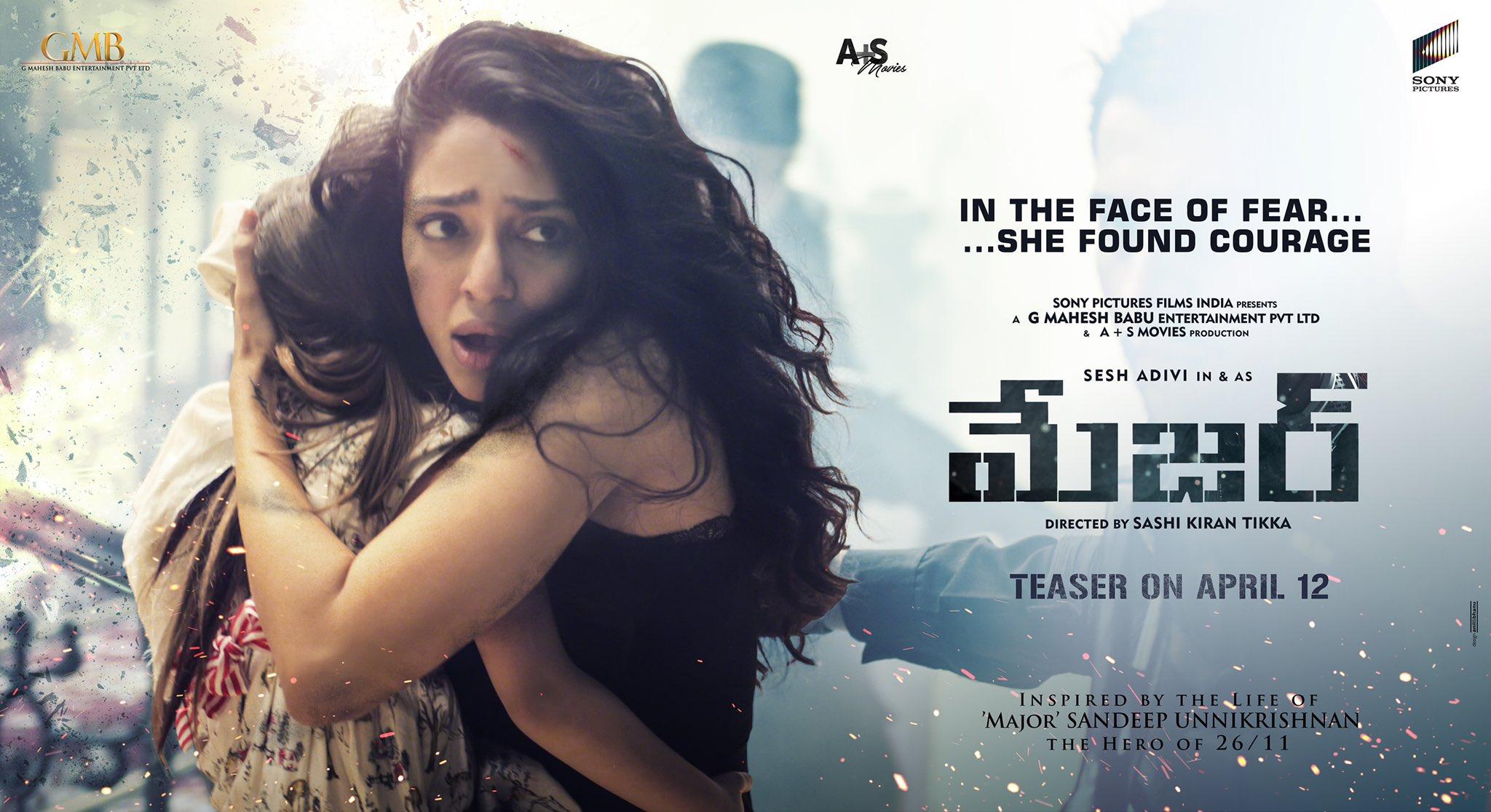 Actress Sobhita Dhulipala Major Telugu Movie HD Posters