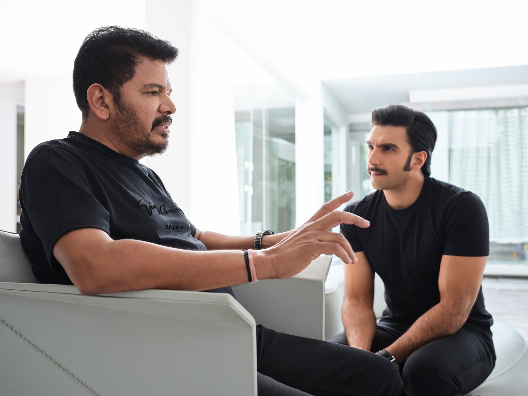 Director Shankar & Actor Ranveer Singh @ Anniyan Hindi Remake Discussions