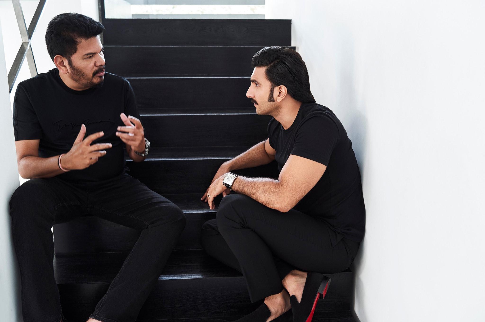Director Shankar & Hero Ranveer Singh @ Anniyan Hindi Remake Discussions