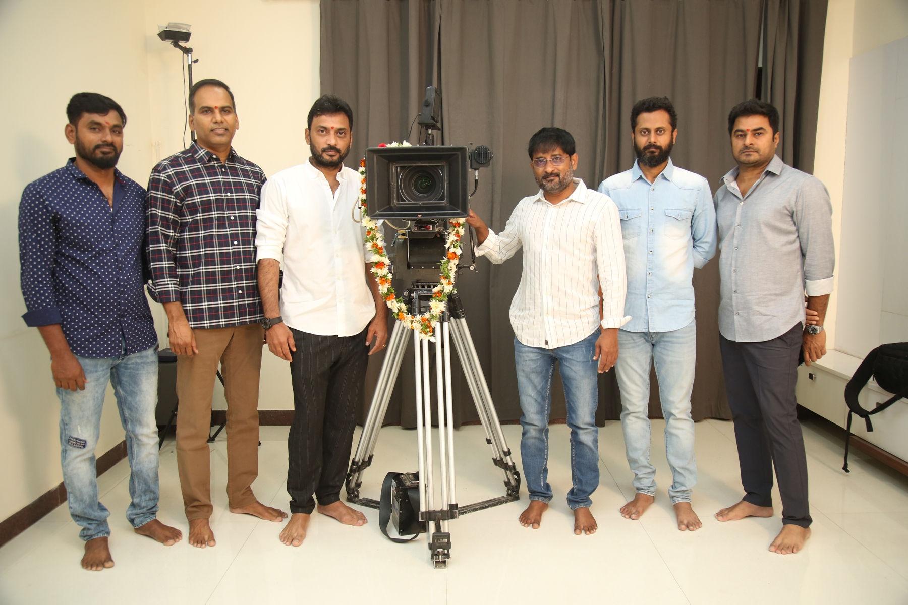 P Ravi Shankar @ Ravi Teja, Sarath Mandava, SLV Cinemas LLP Production No 4 Launched
