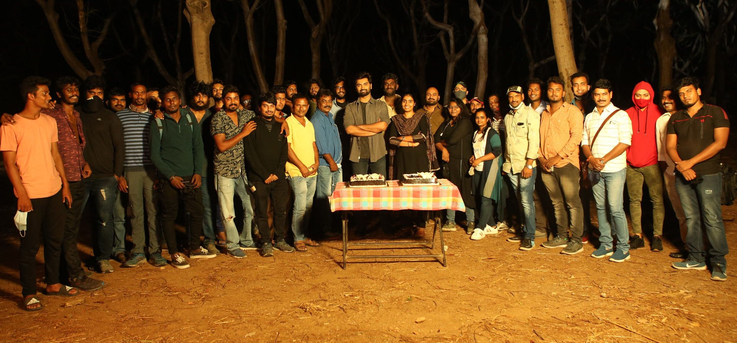 Pramod Films' 25th production Sam Anton directorial Atharvaa Murali starrer wraps up shooting in Hyderabad in a single stretch'