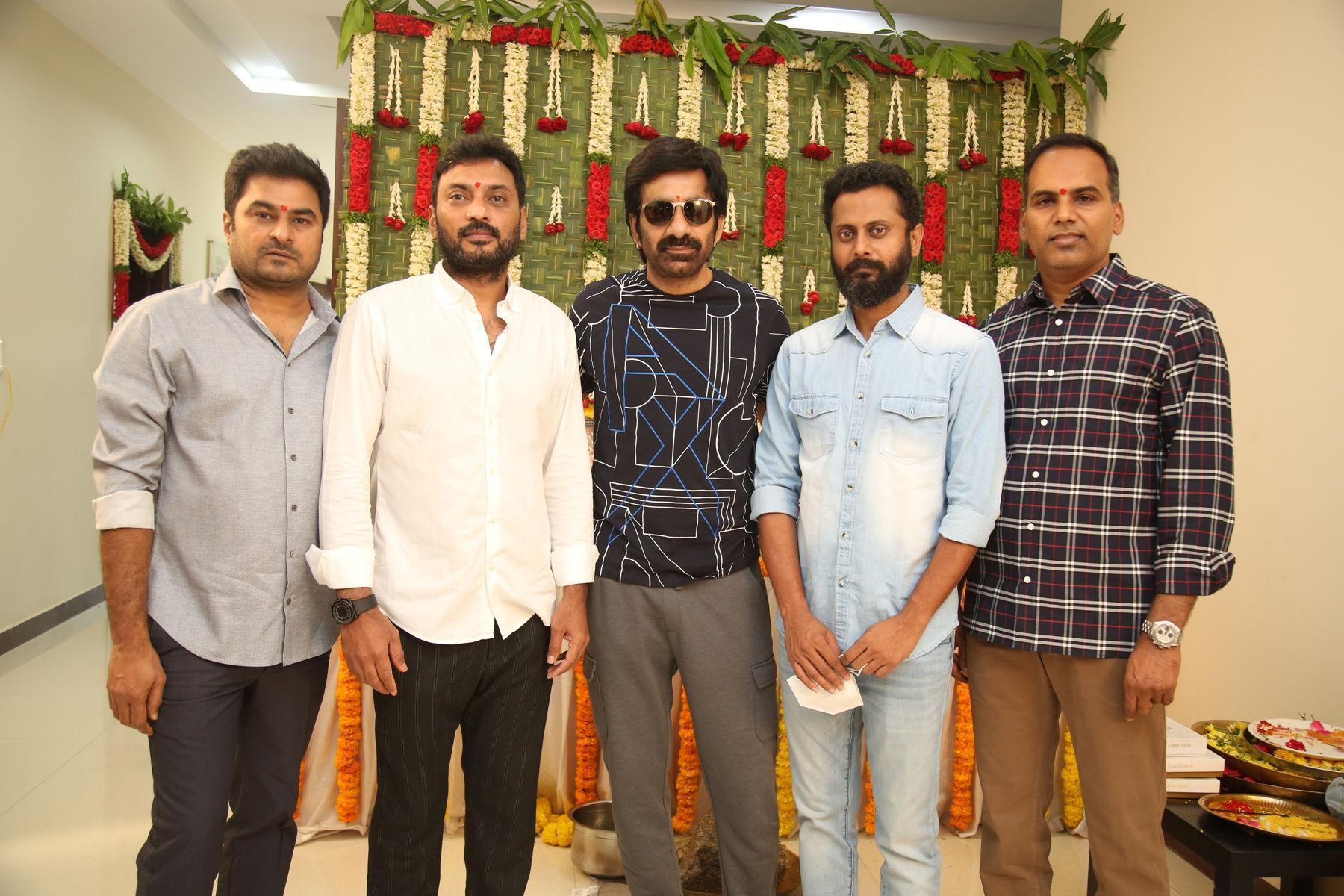 Ravi Teja, Sarath Mandava, SLV Cinemas LLP Production No 4 Launched